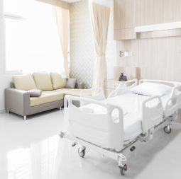 Hospital-room-with-beds-and-comfortable-medical-equipped